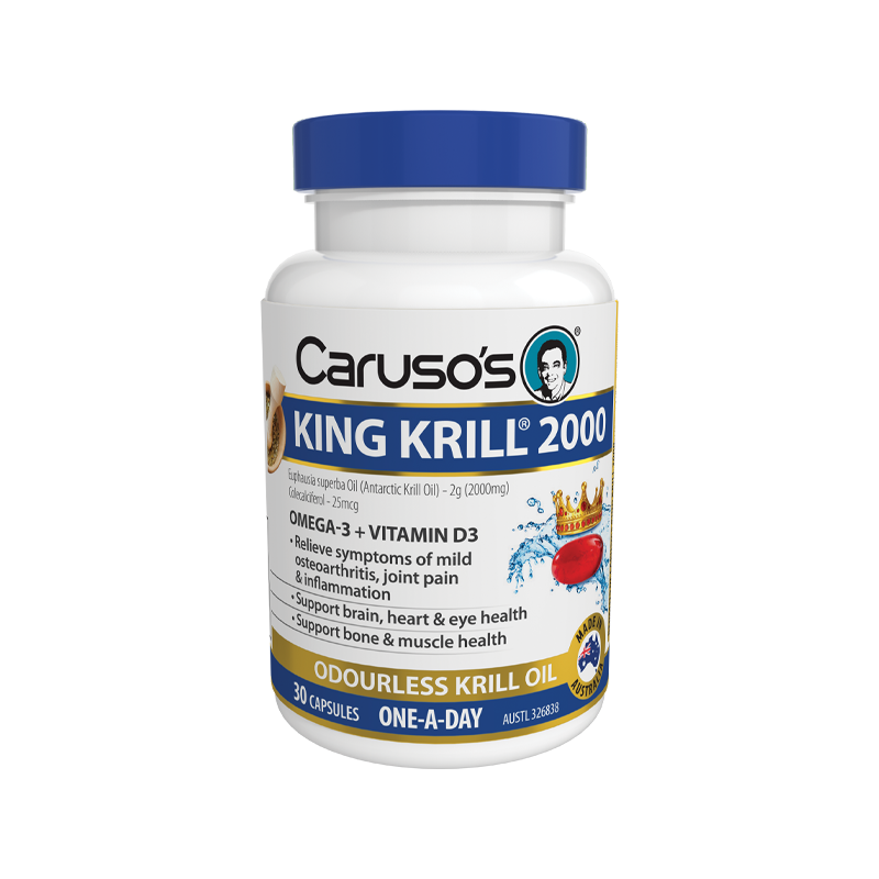 King Krill 2000mg by Carusos Natural Health