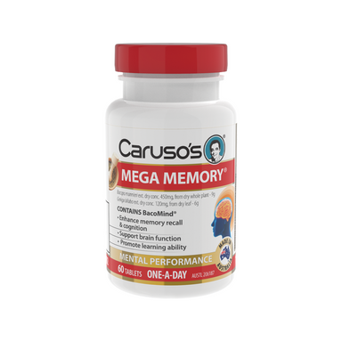 Mega Memory by Carusos Natural Health
