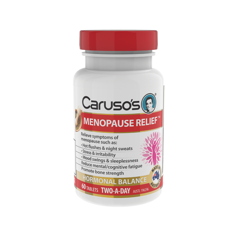 Menopause Relief by Carusos Natural Health