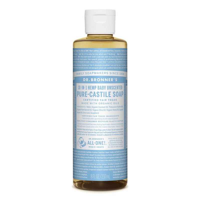 Pure-Castile Liquid Soap by Dr Bronners