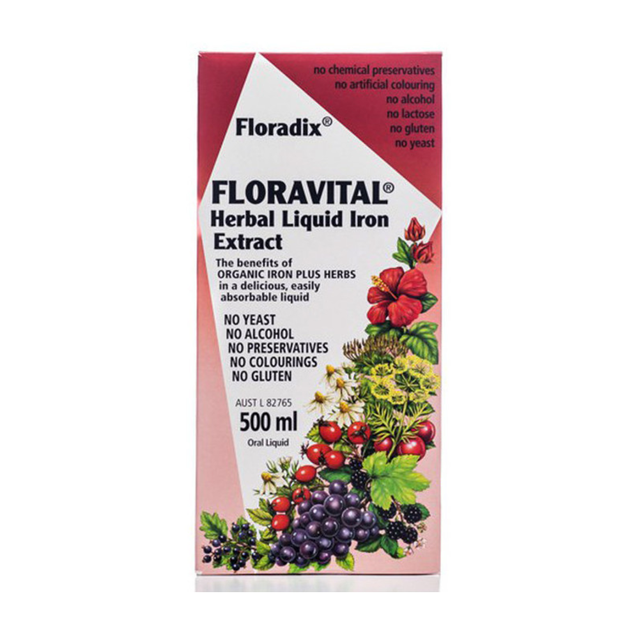 Floravital Herbal Liquid Iron Extract by Floradix