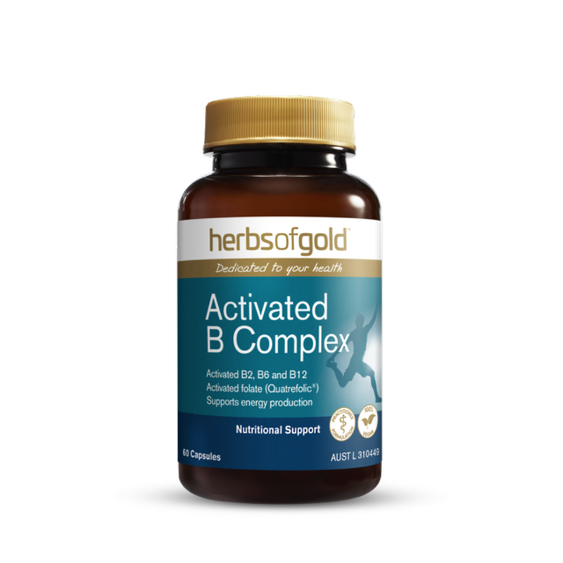 Activated B Complex by Herbs of Gold