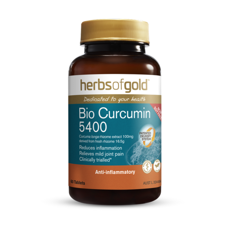 Bio Curcumin 5400 by Herbs of Gold