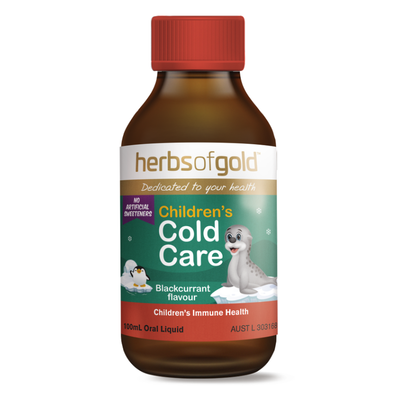 Childrens Cold Care by Herbs of Gold