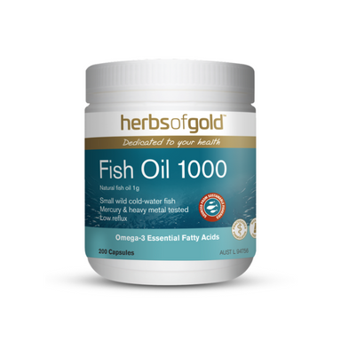 Fish Oil 1000 by Herbs of Gold