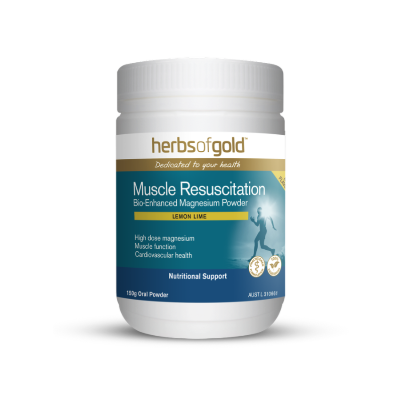 Muscle Resuscitation by Herbs of Gold