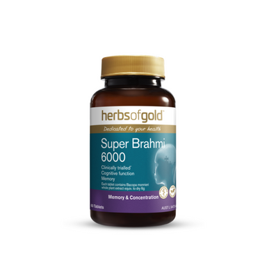 Super Brahmi 6000 by Herbs of Gold