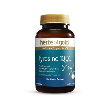 Tyrosine 1000 by Herbs of Gold