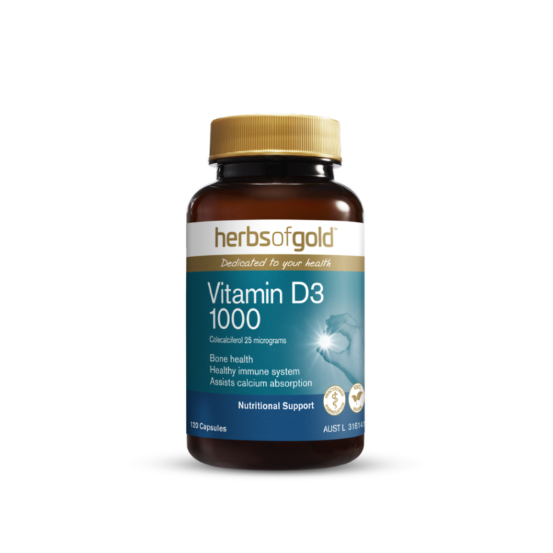 Vitamin D3 1000 by Herbs of Gold