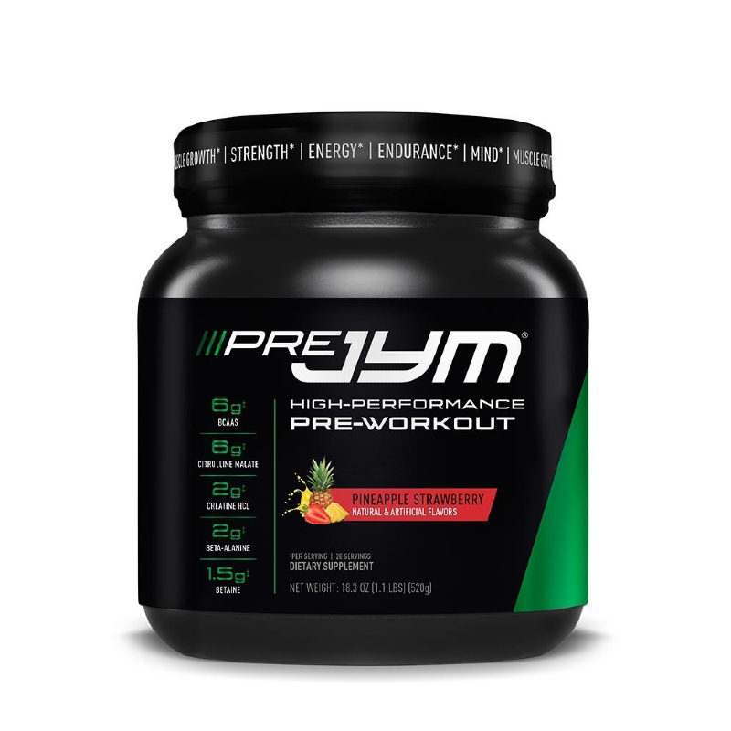 PreJYM Pre-Workout by Jym Supplement Science