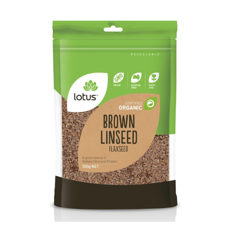 Brown Linseed (Flaxseed) (Organic) by Lotus