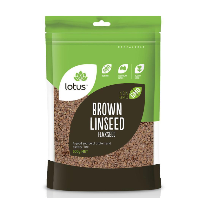 Brown Linseed (Flaxseed) by Lotus