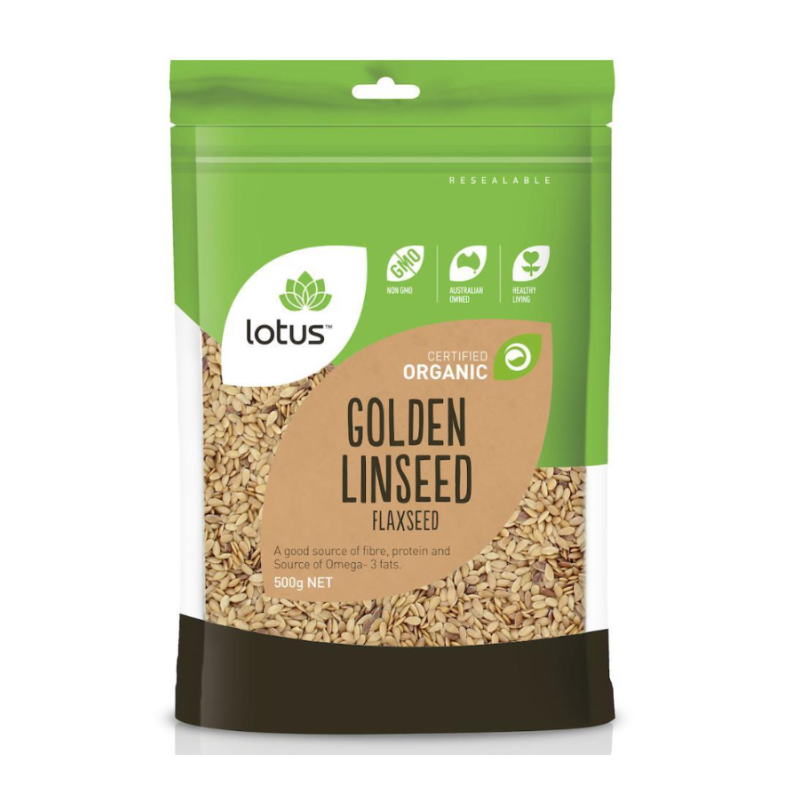 Golden Linseed (Flaxseed) by Lotus