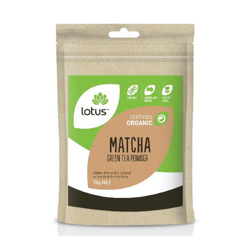 Matcha Green Tea Powder (Organic) by Lotus