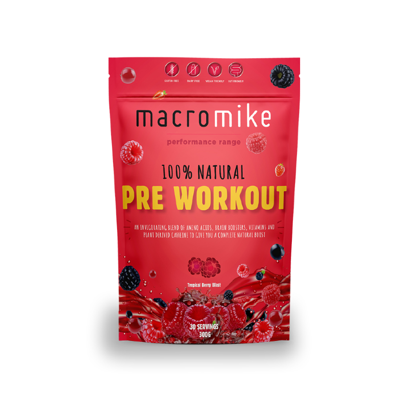 100% Natural Pre-Workout by Macro Mike