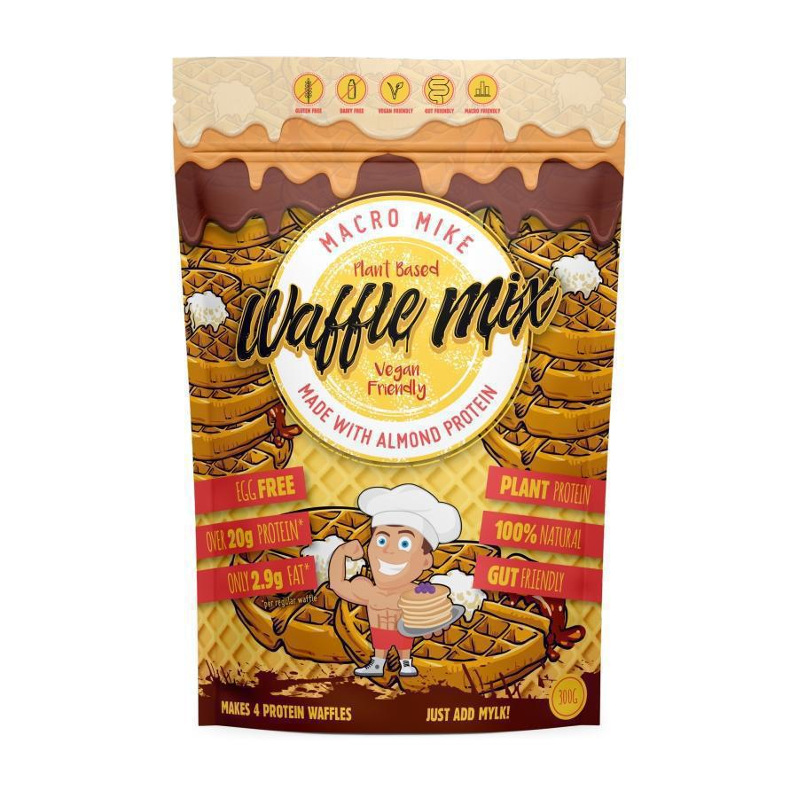 Macro Friendly Plant Based Waffle Mix by Macro Mike