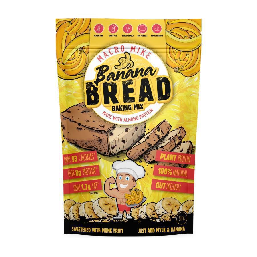 Macro Friendly Bread Baking Mix by Macro Mike