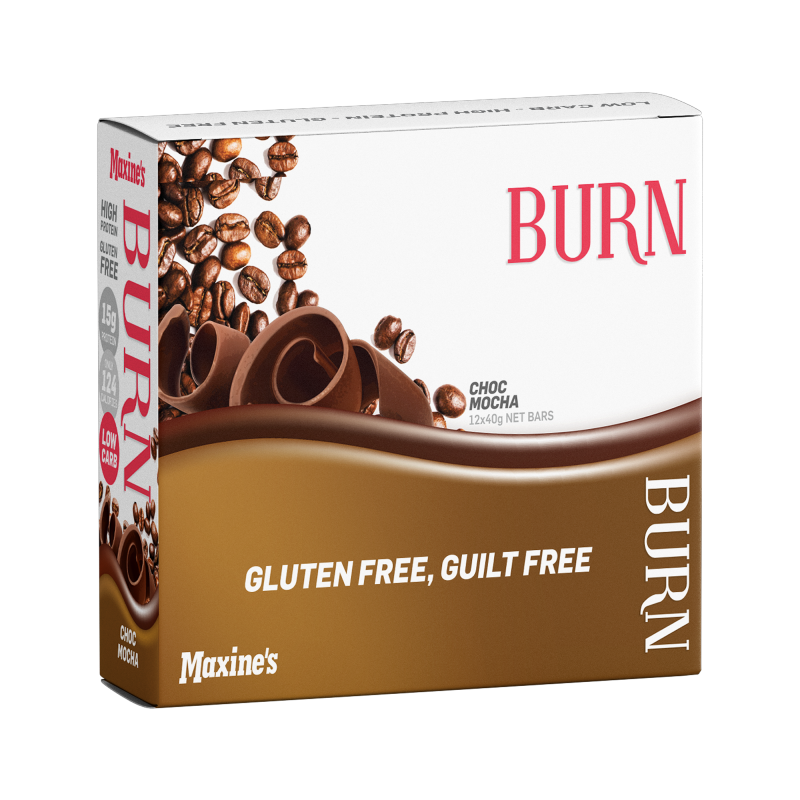 Burn Protein Bars by Maxines
