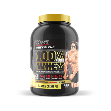 100% Whey by Maxs