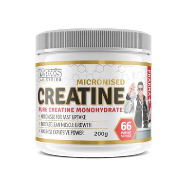 Micronized Creatine Monohydrate by Maxs
