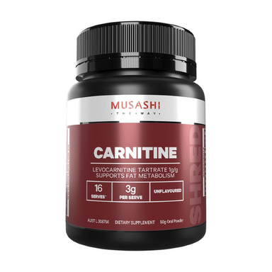 Carnitine Powder by Musashi