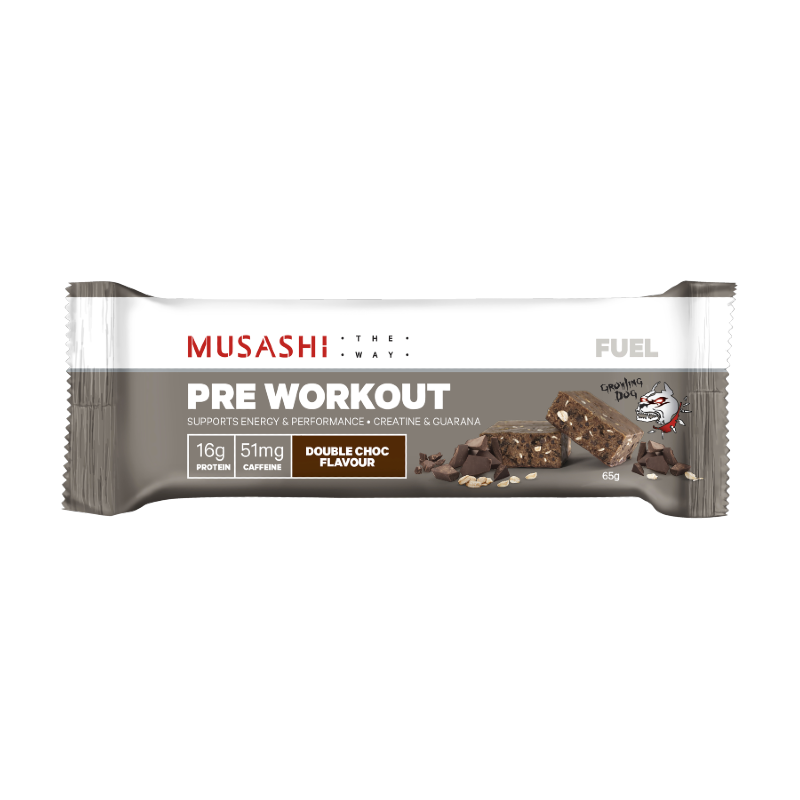 Fuel Pre-Workout Protein Bar by Musashi