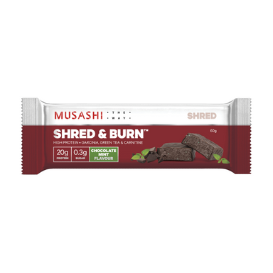 Shred & Burn Protein Bar by Musashi