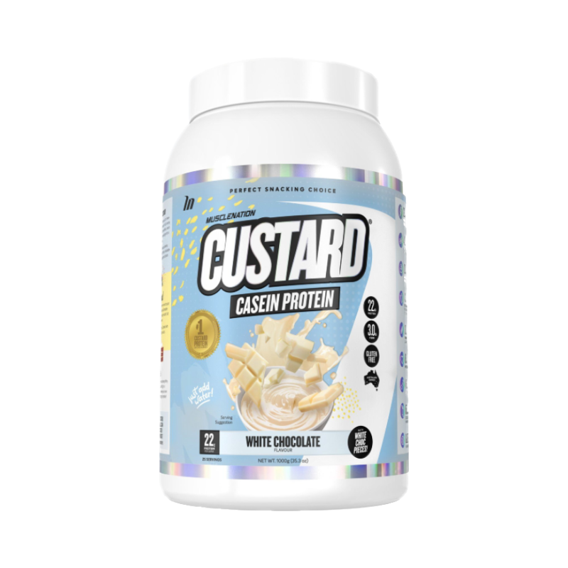 Casein Custard Protein by Muscle Nation
