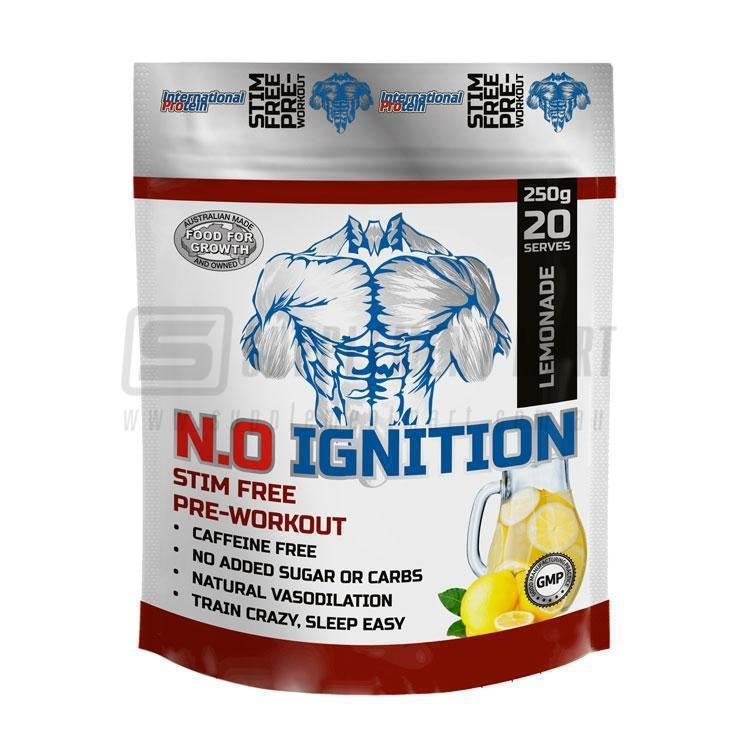N.O. Ignition by International Protein