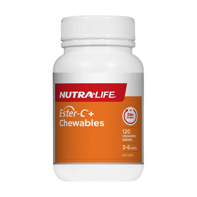 Ester-C+ Chewable by Nutra-Life