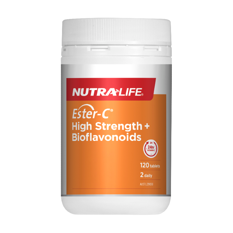 Ester-C High Strength Plus Bioflavonoids by Nutra-Life