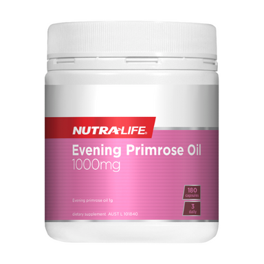 Evening Primrose Oil 1000mg by Nutra-Life