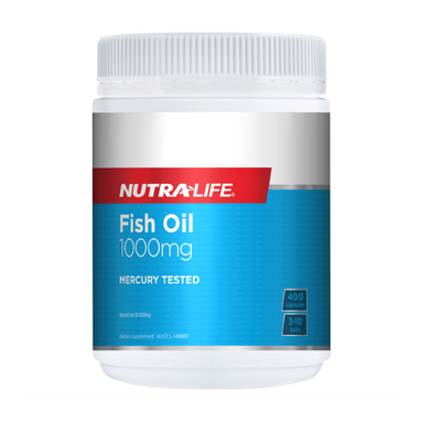 Fish Oil 1000mg by Nutra-Life