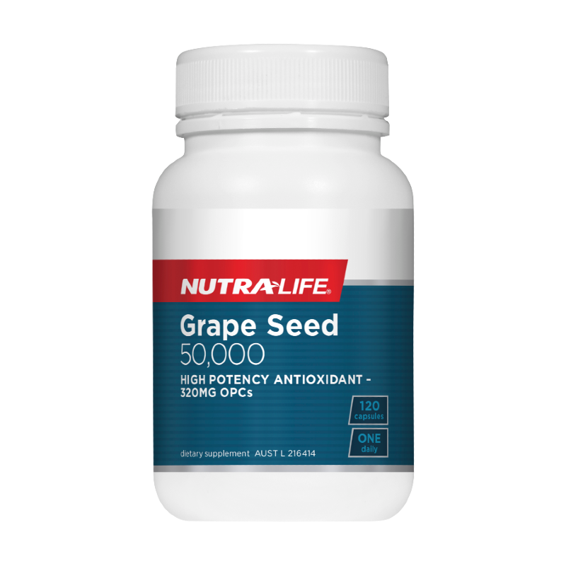 Grape Seed 50000 by Nutra-Life