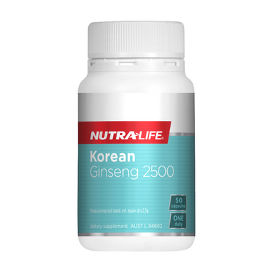 Korean Ginseng 2500 by Nutra-Life