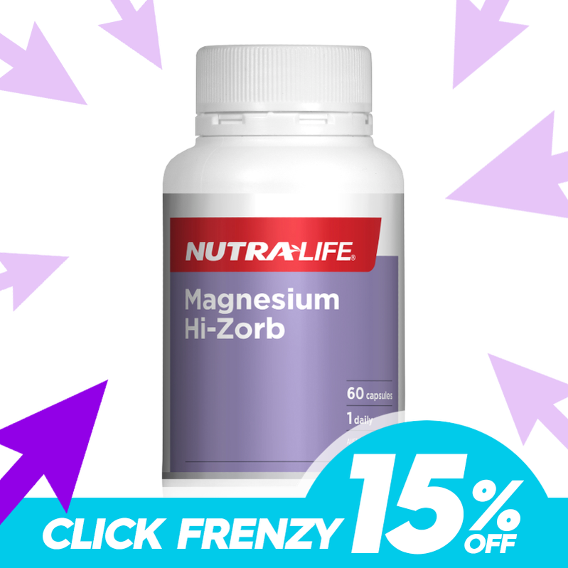 Magnesium Hi-Zorb by Nutra-Life