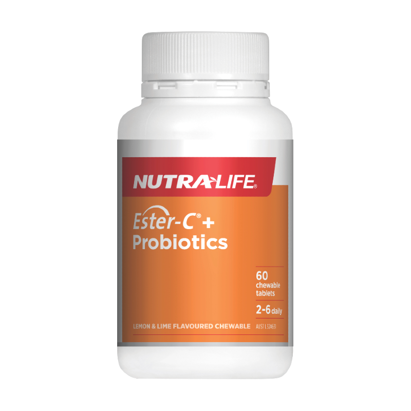 Ester-C + Probiotics Chewables by Nutra-Life