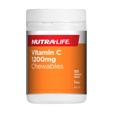 Vitamin C 1200mg Chewables by Nutra-Life