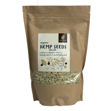 Hulled Hemp Seeds by Orgamix