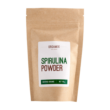 Spirulina Powder (Organic) by Orgamix