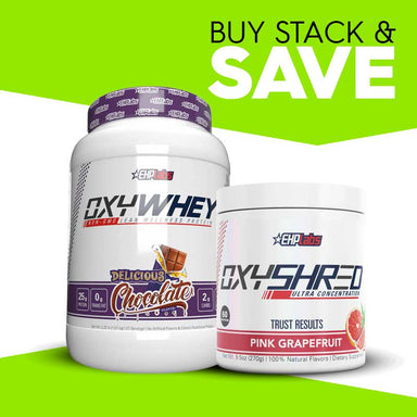 OxyShred + OxyWhey Stack by EHP Labs
