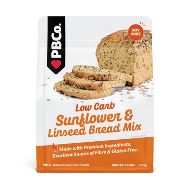 Low Carb Sunflower Linseed Bread Mix by PB Co.