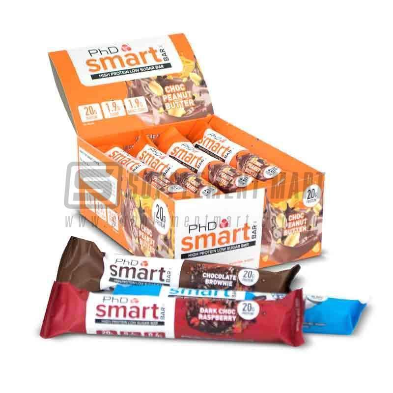 Smart Protein Bars By Phd Nutrition Supplement Mart