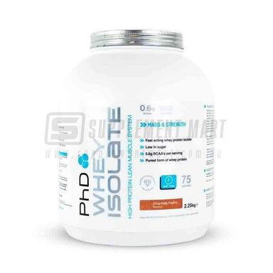 Whey Isolate by PhD Nutrition