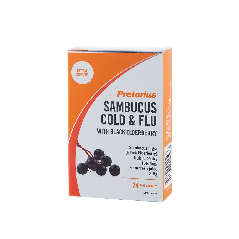 Sambucus Cold & Flu by Pretorius