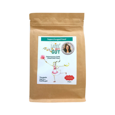 Love Your Gut Diatomaceous Earth (Fossil Shell) Powder by Supercharged Food