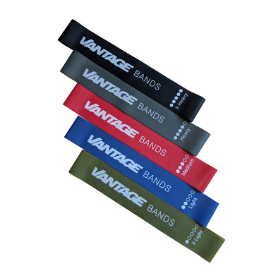 5 Pack Resistance Bands by Vantage