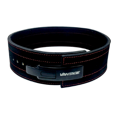 Leather Lever Belt by Vantage