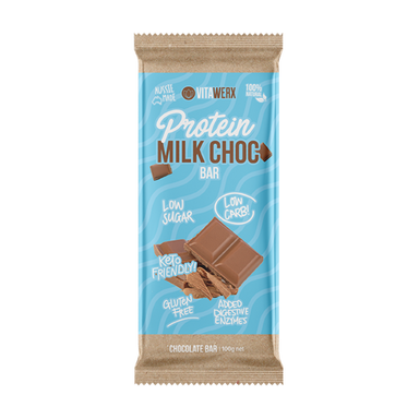Keto Protein Milk Chocolate Bar (Large) by Vitawerx