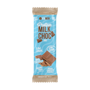 Keto Protein Milk Chocolate Bar (Small) by Vitawerx